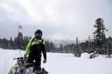На фоне горы Тушканчик