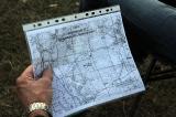 Карта местности с КП