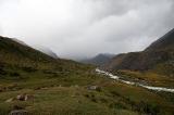 Ледники и перевал Аксу закрыты туманом