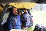 Прячимся от дождя