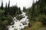 Безымянный водопад на реке Каракол