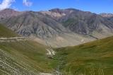 Вид с перевала Калмакашу (3403 м)