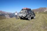 На перевале Каракичи