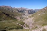 Спуск с перевала Каракичи