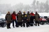 Команда перед выездом на маршрут