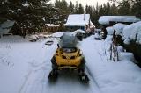 Остановка на зимовье Темляковых