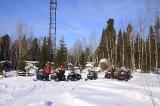 На зимовье под радиомачтой