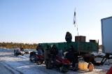 Заправка снегоходов
