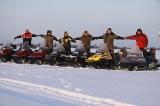 Команда на озере Тегус-Лор