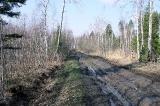 Дорога на подъезде к Качуково