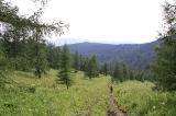 Вид с перевала на Каракол