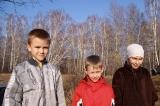 Младшие участники экспедиции