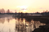 Вечер на реке Тара