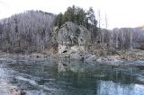 Морозное утро на реке Чарыш