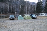 Лагерь на реке Кумир