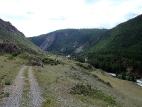 Дорога к слиянию рек Чуя и Мажой