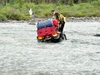 Вброд через реку Мажой