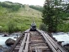 Мост на реке Мажой