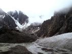 У подножия ледника Большой Актру