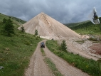 Дорога от рудника к Акташу