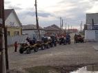 Перед выездом в посёлке Кош-Агач