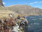 Движение по реке Ак-Алаха
