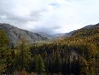 Вид на долину реки Жазатер