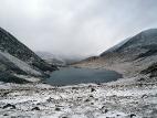 Вид на озеро Джанкёль с перевала