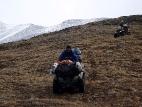 На спуске от озера Атаккёль