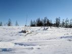 Старинное ненецкое кладбище