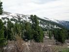 На подъёме к перевалу Багаташ