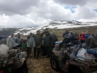 У подножия горы Озёрный Белок