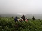 На пути к перевалу Багаташ