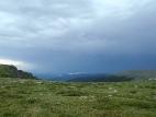Вид с перевала Багаташ