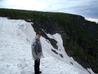 Ледник над Каракольскими озёрами