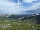 Вид с перевала Угульский