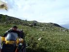 Спуск с перевала Угульский