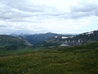 Вид с перевала Аккаинский