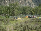 В долине реки Чулышман