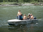 Переправа на реке Чулышман