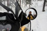 На спуске с перевала Орокан