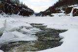 Каньон реки Курейка