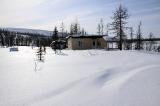 Метеостанция на реке Курейка
