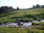 На спуске к реке Тогускол