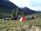 Утро под горой Альбаган