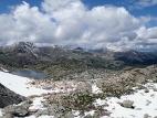 Вид с Альбаганского перевала в долину реки Ложа