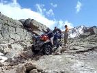 Спуск с перевала Альбаганский