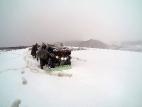На перевале за горой Кабарга