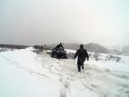 На преодолении снежных сугробов