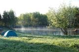 Утро в базовом лагере